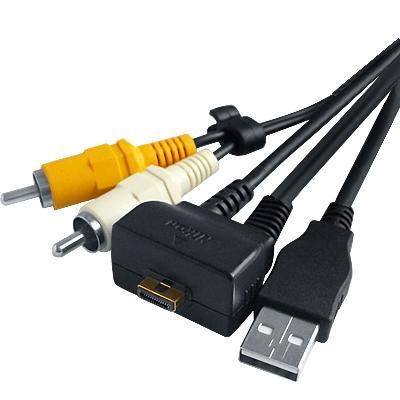 Nikon Coolpix S550 Audio Video Usb Cable